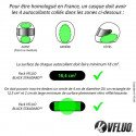VFLUO - le french law for reflective stickers on helmets