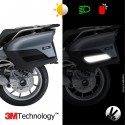 Kit 3M™ - BMW suitcases R1200RT / K1600GT / K1600GTL - black sticker - retro reflective