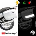 Kit 3M™ - BMW suitcases R1200RT / R1200R / 1200RS - white sticker - retro reflective